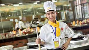 我有一个梦想,那就是成为一名出色的厨师