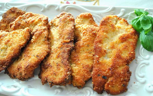 面包火雞肉排